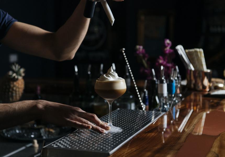 Espresso Martini w/ Maple + Coconut Foam