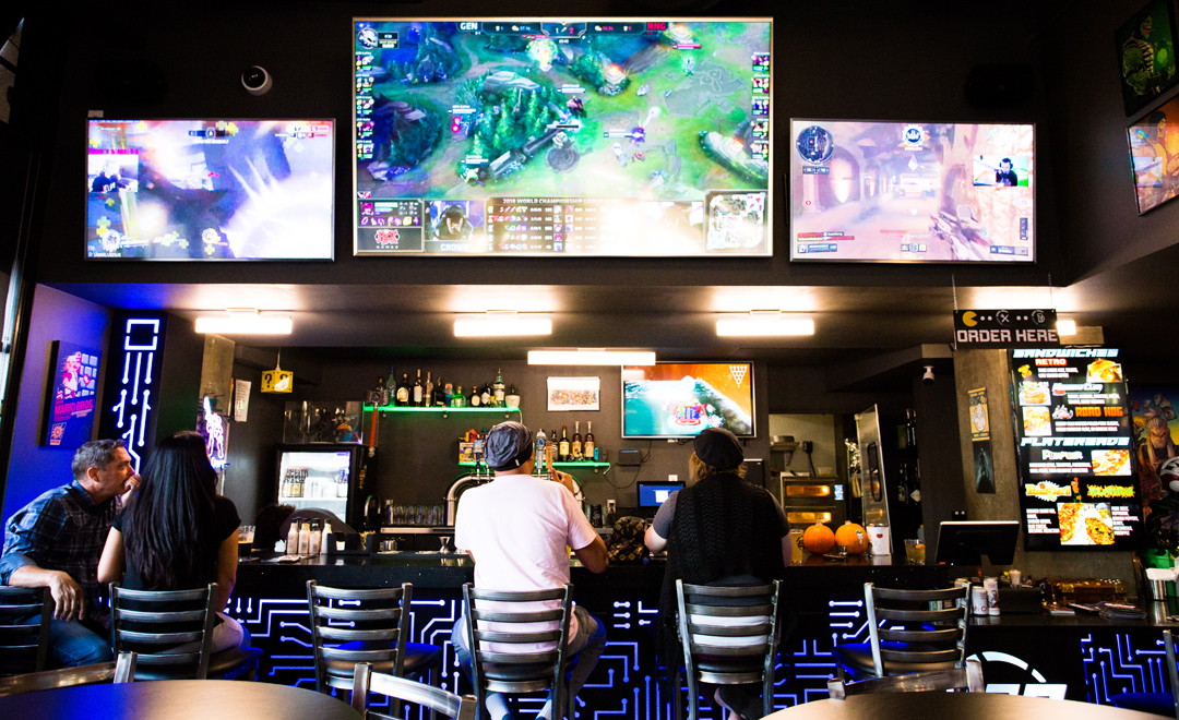 LAG guests can choose from 700+ games to play (watching is okay, too!)