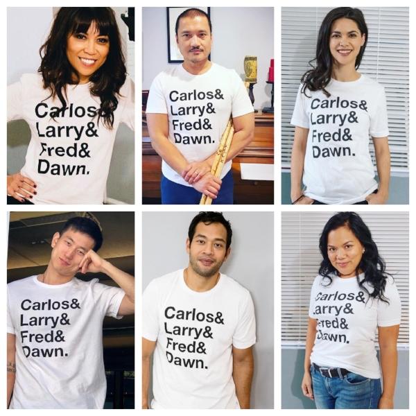 Some of the cast: Tess Paras, Jon Jon Briones, Lilan Bowden, Jake Choi, Eugene Cordero, and Melody Butiu.