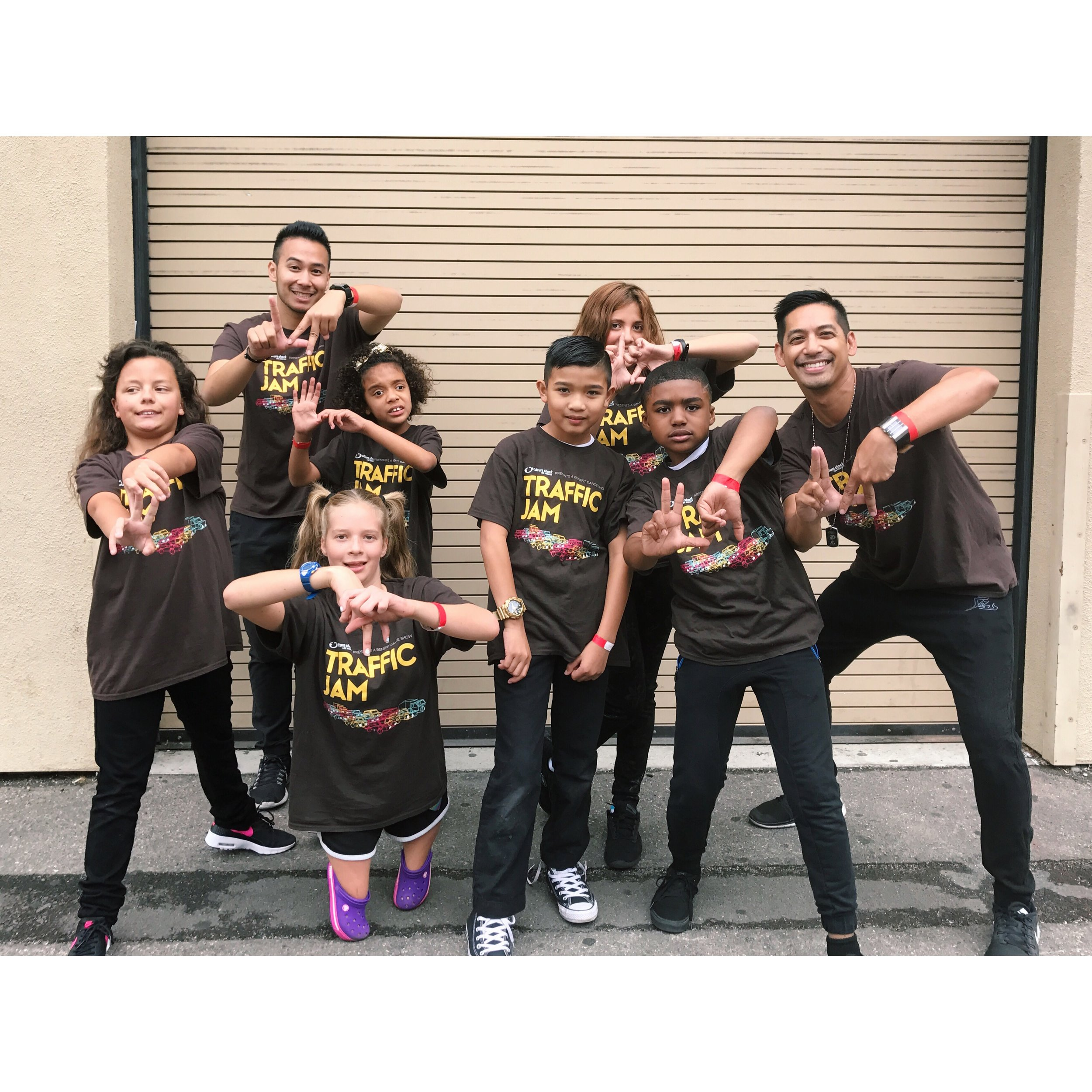 With Culture Shock LA's AWESOME SHOCK dance therapy program