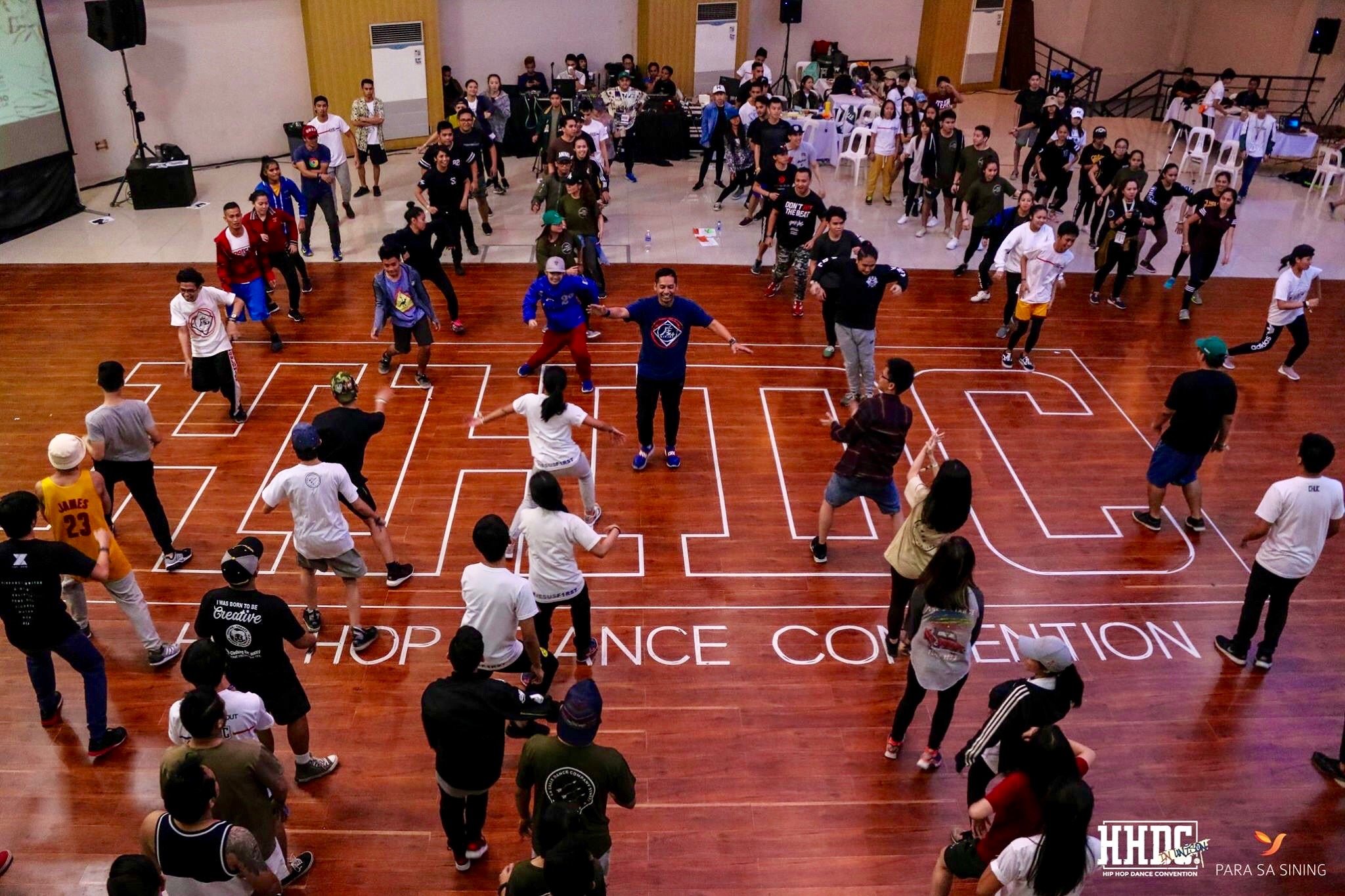 Teaching for HIP HOP DANCE CONVENTION in the Philippines