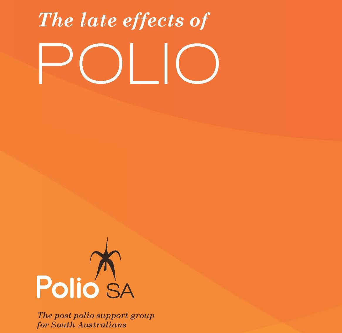 Image of PolioSA Post Polio Information Booklet