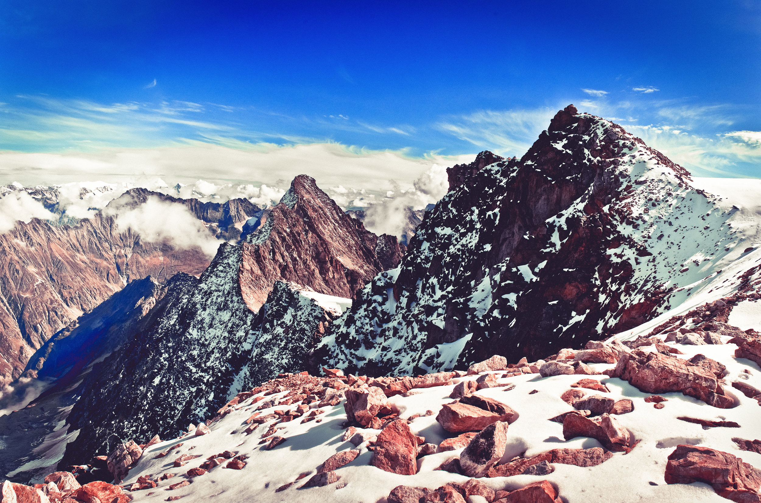 Hangendgletscherhorn - Spätsommer 2014