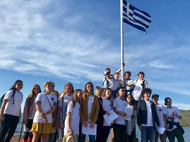 Introducing our Citizen Scientists program-partnership w Pétra Gymnasium, Lesvos and New Village School, Sausalito for our 💙 Mission Blue Avlaki Hope Spot & the UNs SDG#1-17