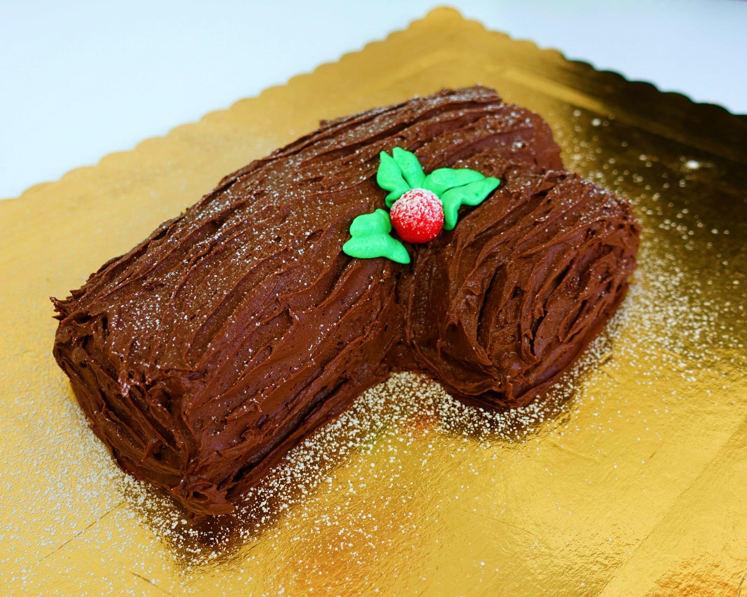 Tronchetto Di Natale Con Crema Chantilly.Tronchetto Di Natale La Pasticciona Vegana