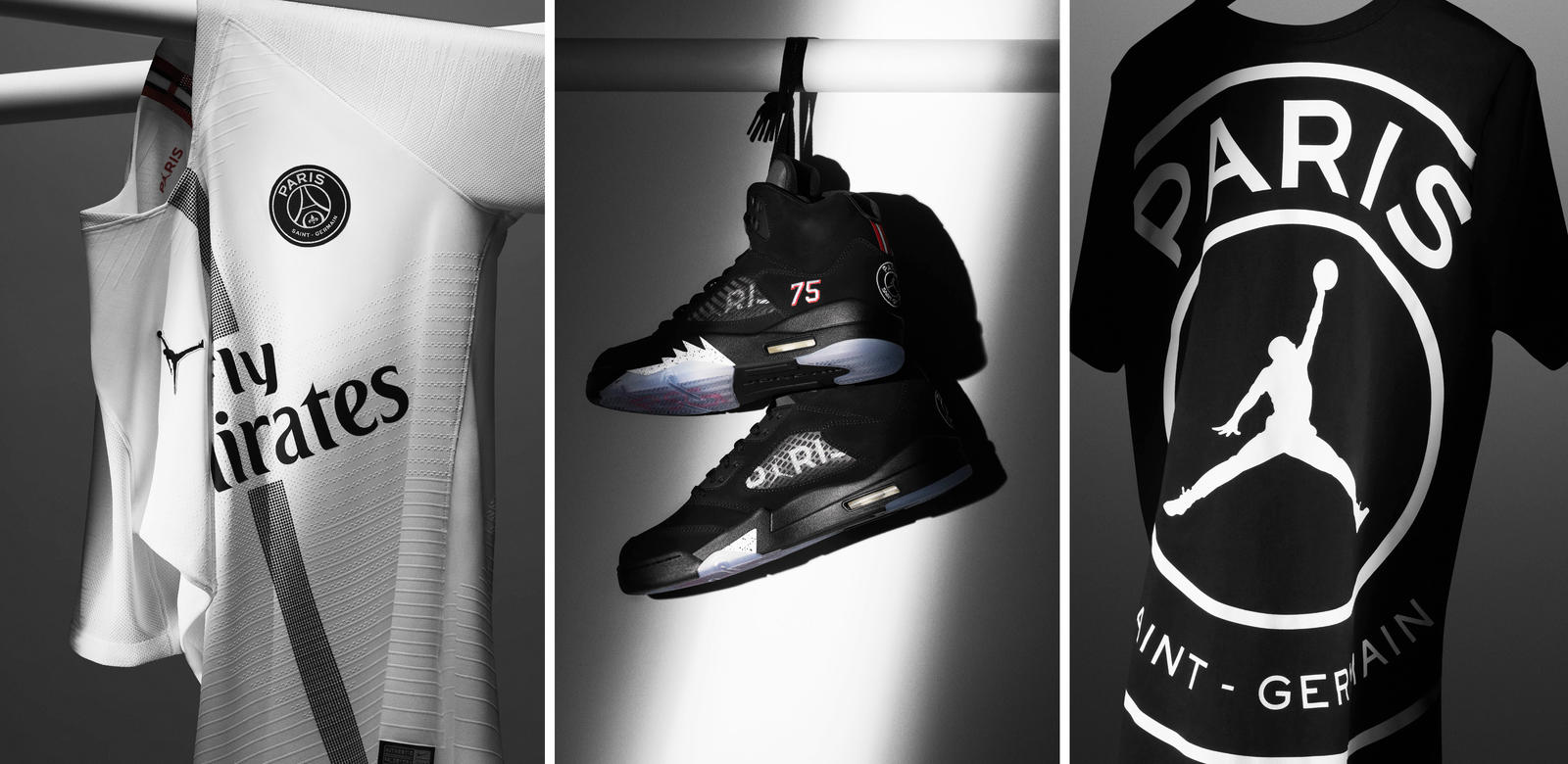 some of the Air Jordan x PSG wares for sale