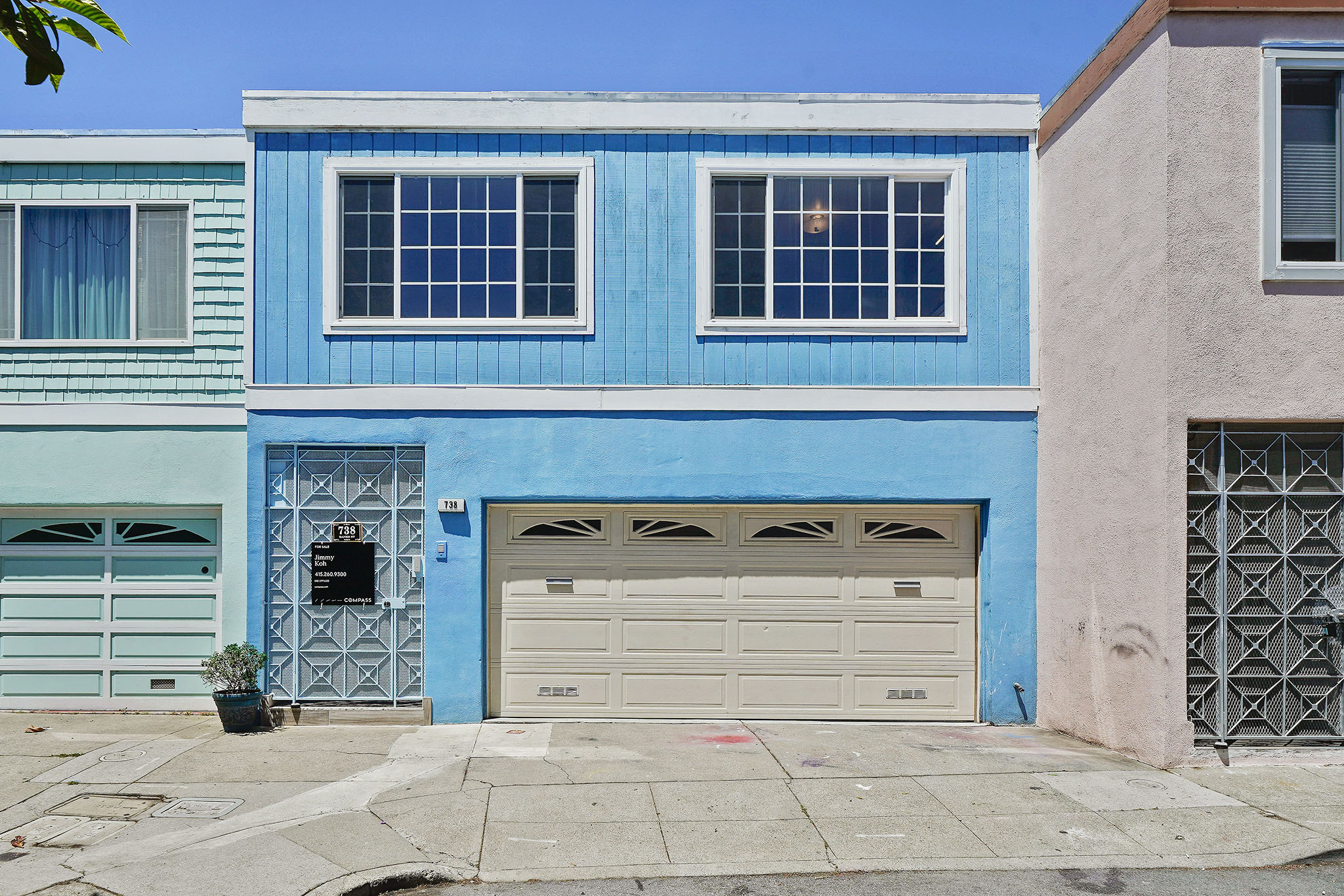 738 Banks St, San Francisco, CA 94110  Listed on 6/10/2019  Listed at $999,000 3 bedrooms | 2 bathroom 1509 sq ft  2 car garage  Bernal Heights move-in ready 3 bedroom, 2 bathroom home is a cul-de-sac property with plenty of upgrades! Top floor has a spacious open layout which brings in gorgeous natural light. Upstairs are 2 bedrooms and a renovated bathroom, with remodeled kitchen and newer appliances, plenty of cabinet storage. Private lower level is fully equipped with its own 1 bedroom, 1 bathroom, dining nook, living room, and kitchenette. Rent it out and live upstairs or vice-versa! Either way, great income potential! Convenient location with I-280 and US-101 just minutes away, 30 minute walk to Glen Park BART Station, steps away from weekly Farmer's Market, and a few blocks from the vibrant shops of Cortland Ave.  OPEN HOUSE Saturday, June 22nd, 2019 | 12:00 - 3:00pm Sunday, June 23rd, 2019 | 1:00 - 4:00pm  For more information and photos, please visit  www.738banks.com .