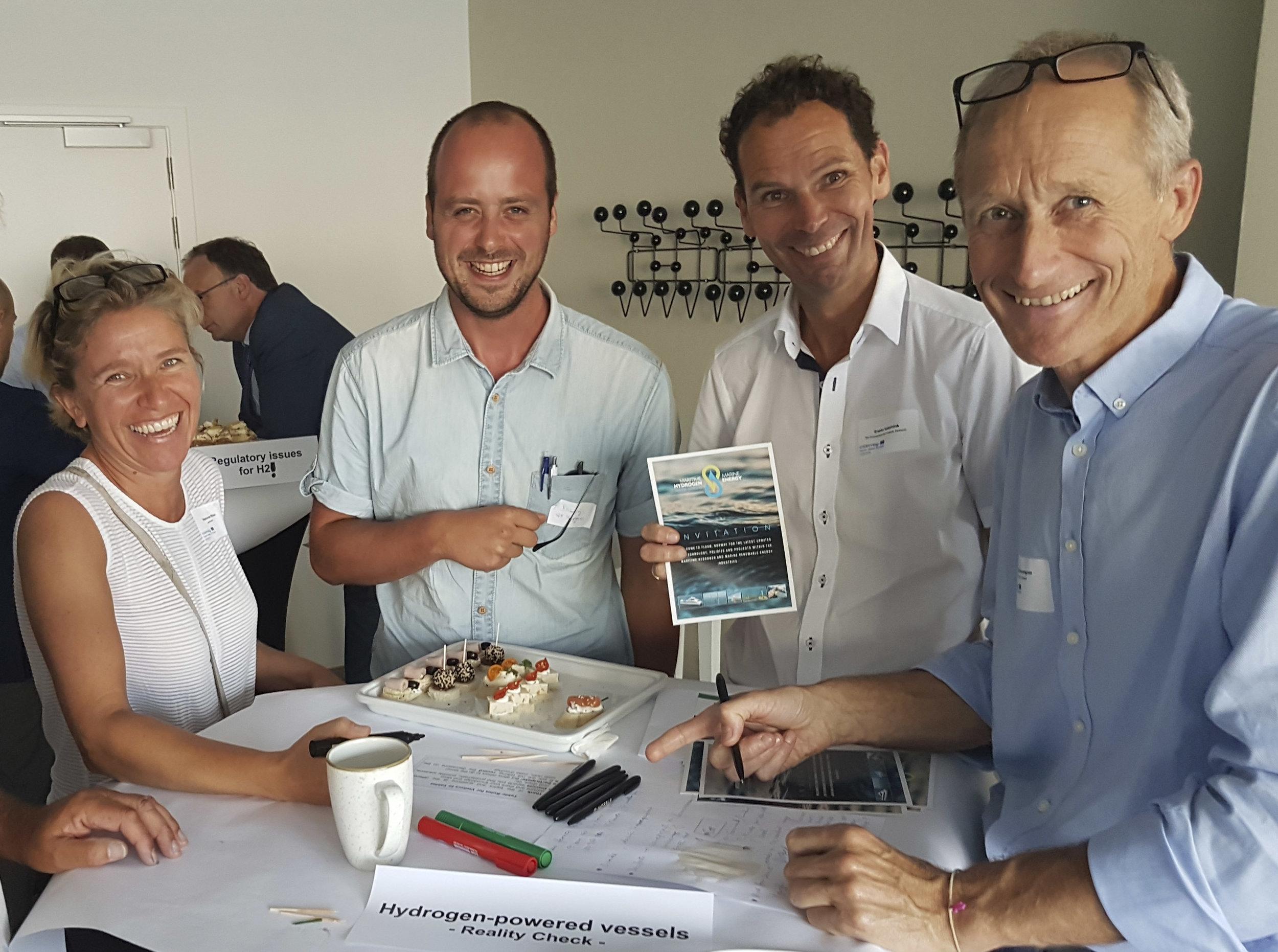 Foto: Trond Strømgren leia ein av workshop'ane som omhandla fartøy med framdriftssystem basert på hydrogen