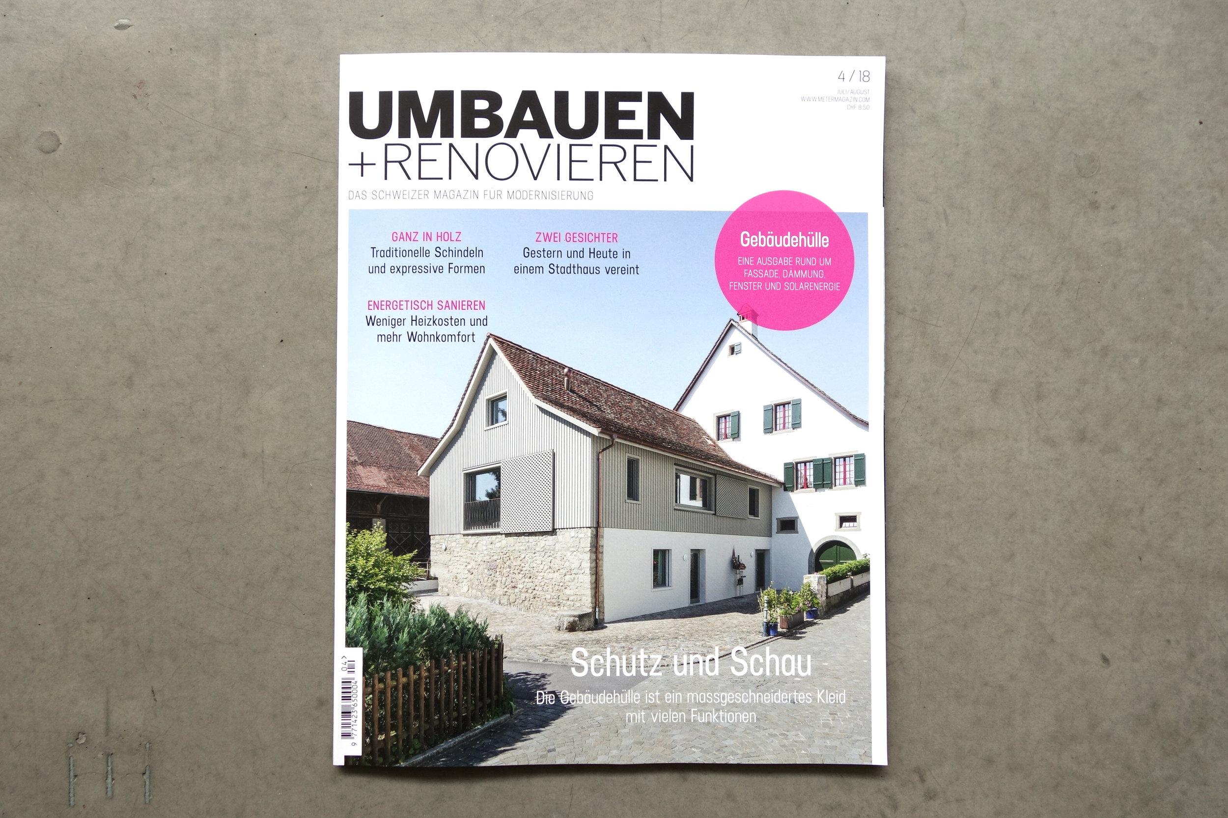Umbauen+Renovieren Ausgabe 04/18