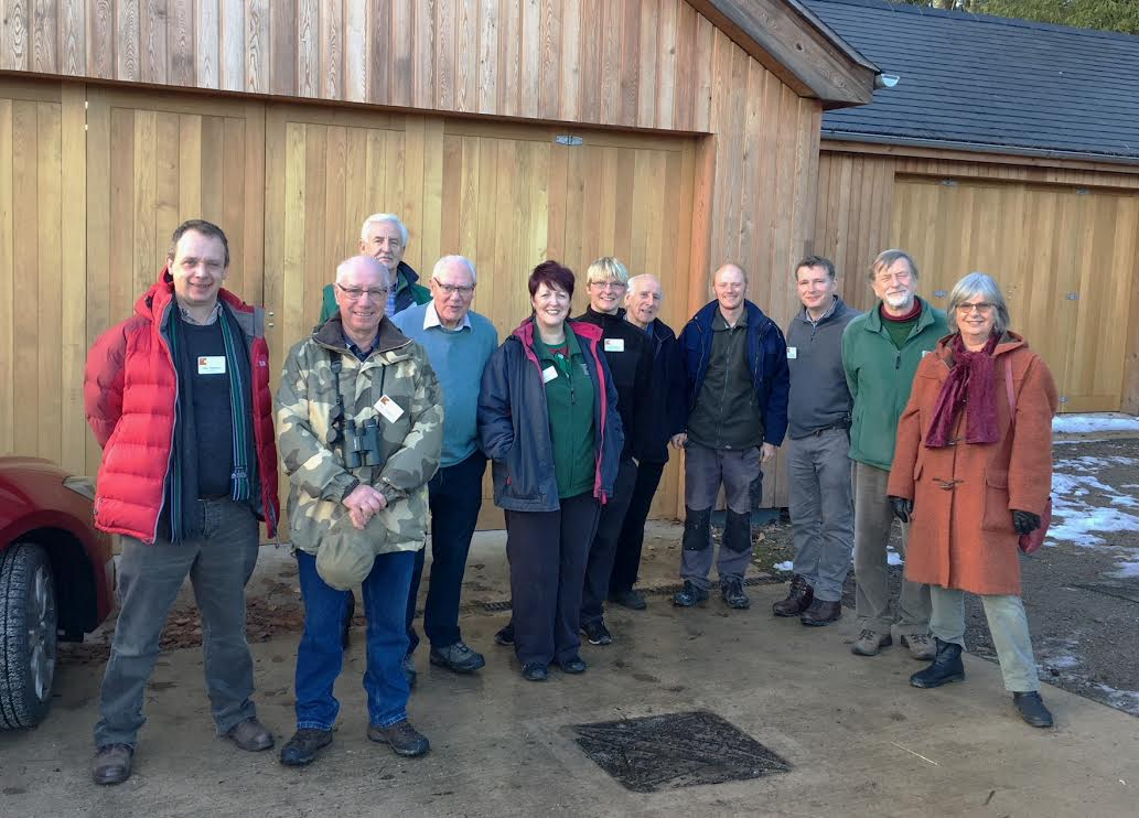 A great team of volunteers supporting the gardens at Compton Verney, and the team!