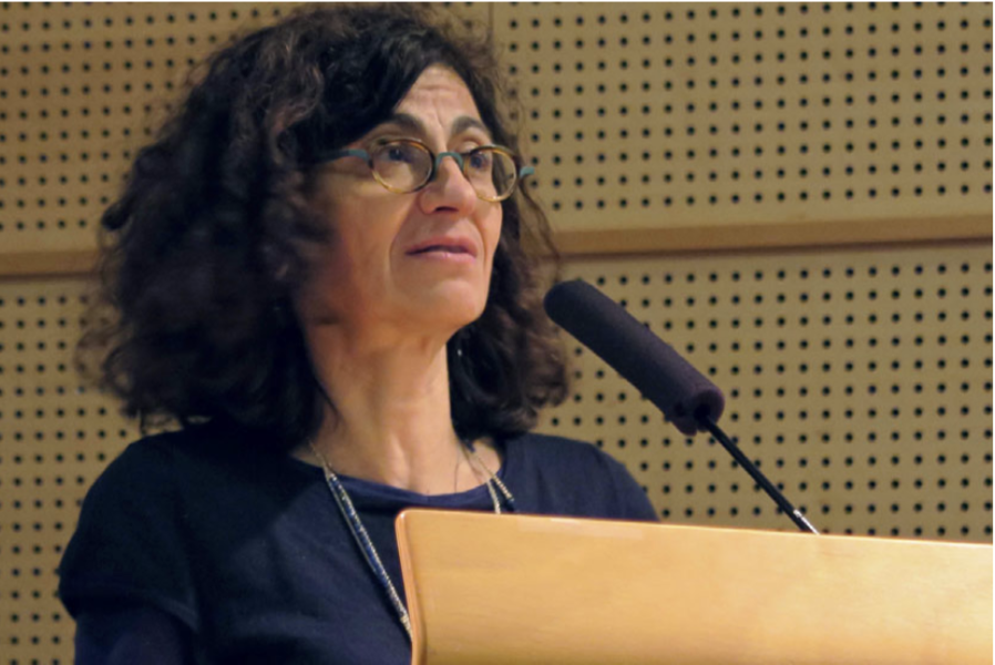 Closing remarks from Genevive Almouzni, head of the research center at Institut Curie.