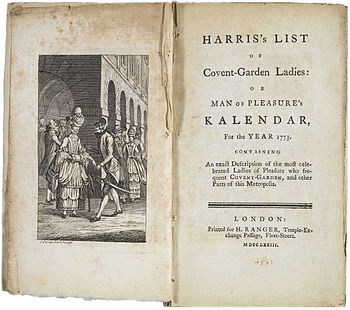 Jack Harris 'Covent Garden Ladies'