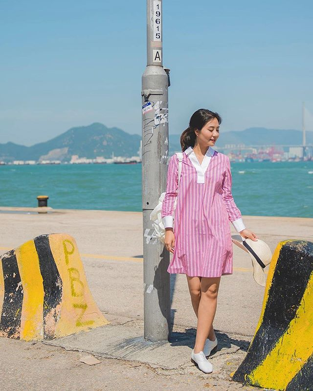 New arrivals: Red Stripes Shirt Dress💖 #ohmira_8thcollection  #havearomanticday 👉🏻www.oh-mira.com