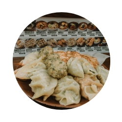 Enjoy: if you are in Insadong and get hungry, visit the Buk-chon son madu restaurant, which means hand-made dumplings. It is not anything fancy, it's actually opposite of chic, but it's authentic and all meals are fresh, made right in front of you. -