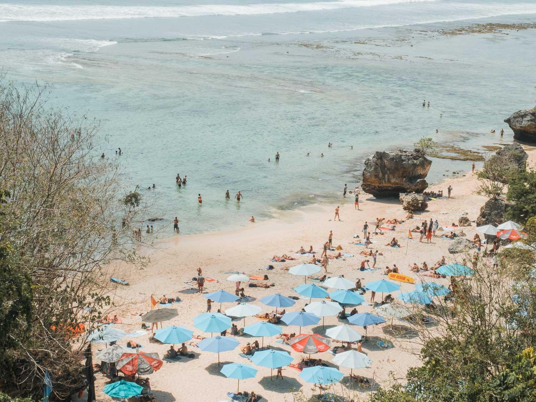 Praia Padang Padang, em Bali
