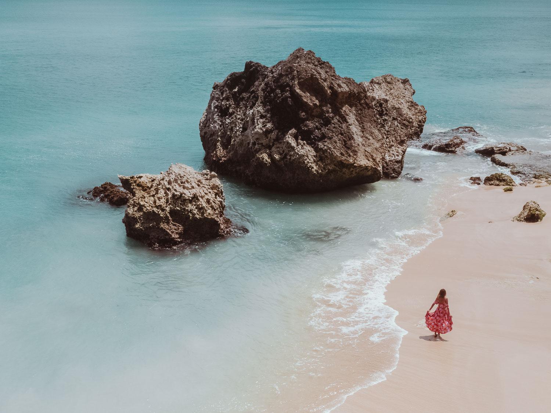 A praia Kubu, do Grupo Ayana