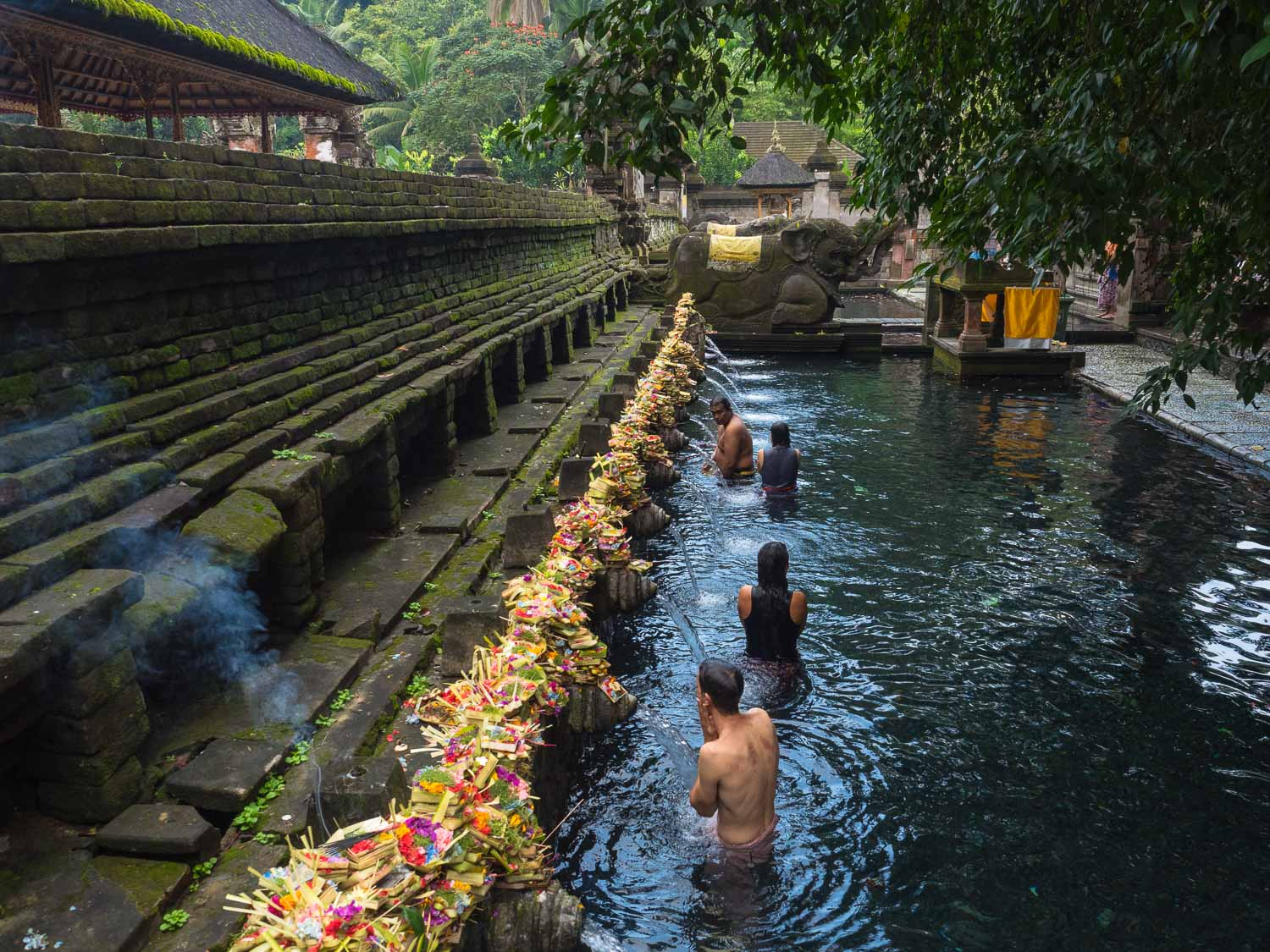 Pura Tirta Empul and its holy fountains