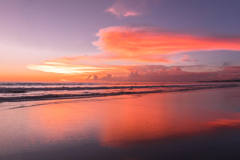 Sunset in Seminyak