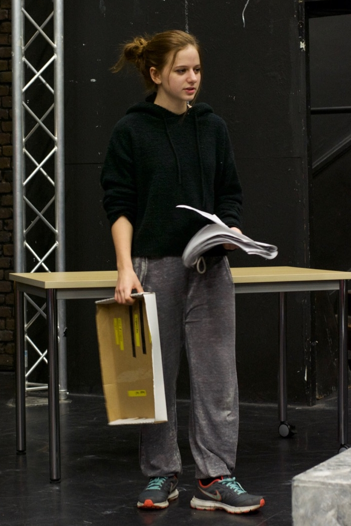 Ciara Southwood - I came into Tumble rather late in the process, but in the time I have been rehearsing and performing with this amazing cast I have learnt so much as an actor, especially when playing multiple roles, as well as thoroughly enjoying the story of the play and working with Kieton, the Director. I really recommend seeing this fresh piece of work