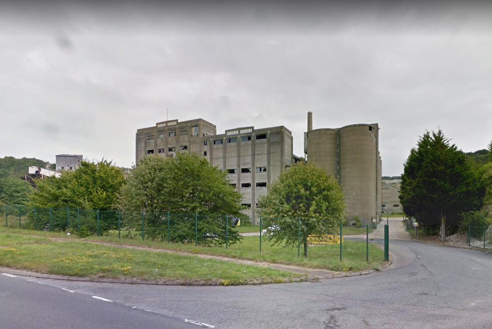 Shoreham cement works - Source: google maps