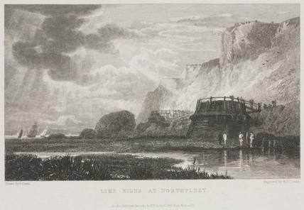 Lime kilns at Northfleet -