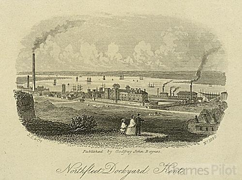 Northfleet Dockyard © Thames Pilot - © Thames Pilot