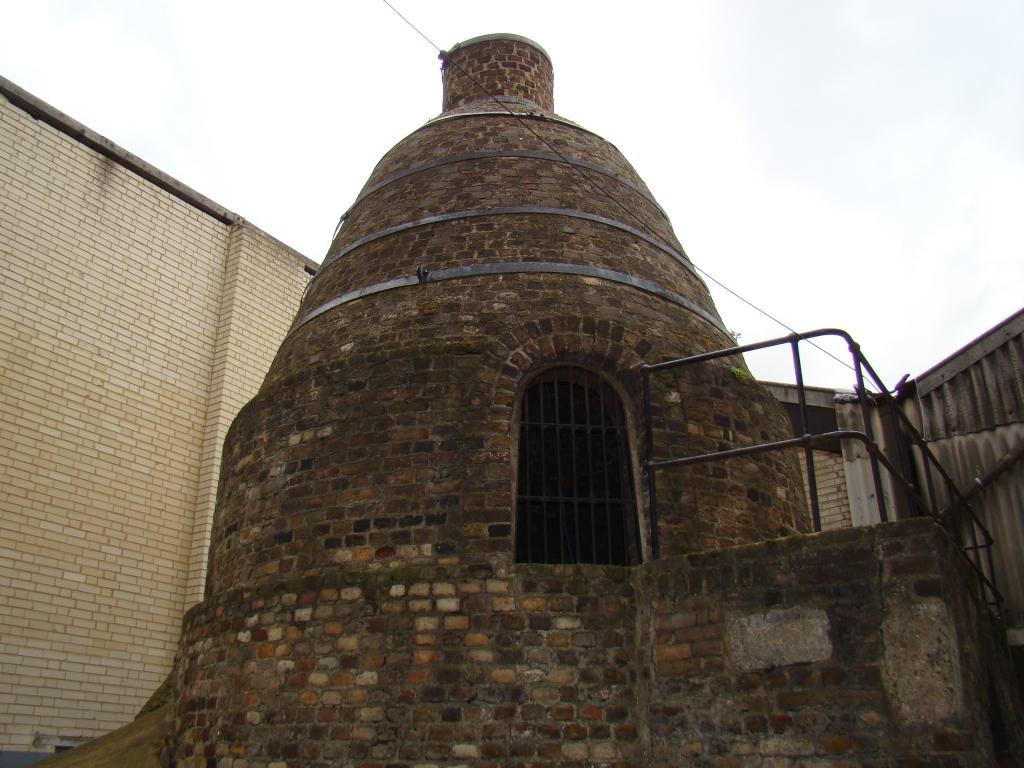 Bottle kiln - oldest cement kiln in world - © Northfleet Harbour Restoration Trust