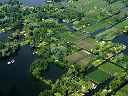 Inhabited polders in Holland Koen Althuis, waterstudionl -