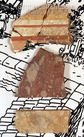 Roman marble found at Springhead -