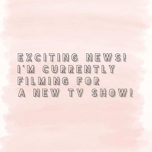 *EXCITING NEWS* I had the BEST news yesterday! As of next week I'm filming for a new tv show all about incredible and outrageous weddings! The series will follow me as I meet up with my incredible brides and help them solve everything to do with wedding dramas! Keep an wye on my insta stories for behind the scenes filming footage!!! #tvshow #outrageousweddings #weddingexpert #presenter #professionalbridesmaid #undercoverbridesmaid #weddings #bridestobe #bridal #wesdingday