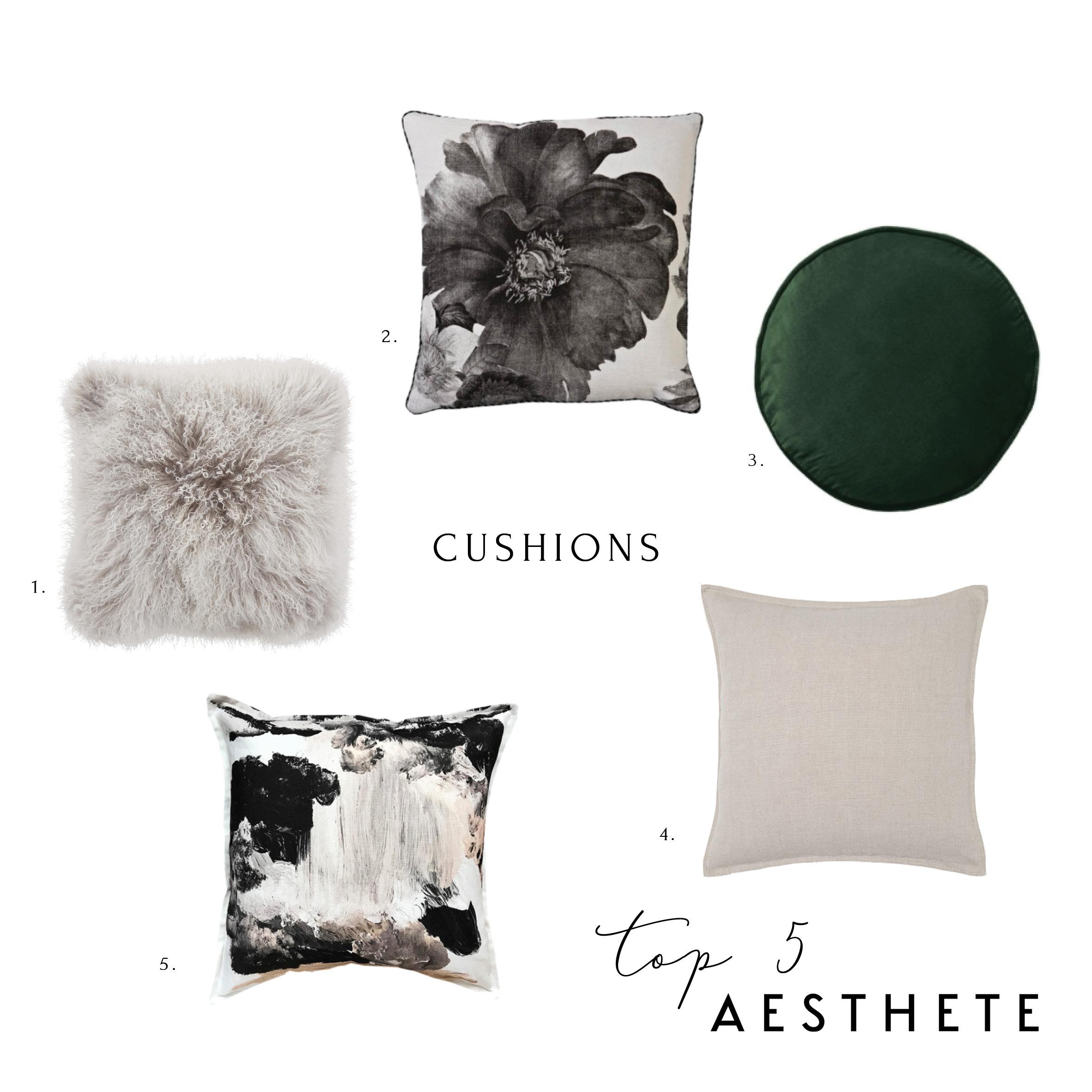 Aesthete Top 5 Cushions