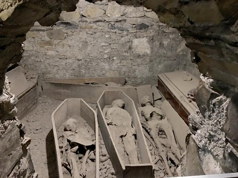 Northern Ireland and Scotland, Mummies at St. Michan's church
