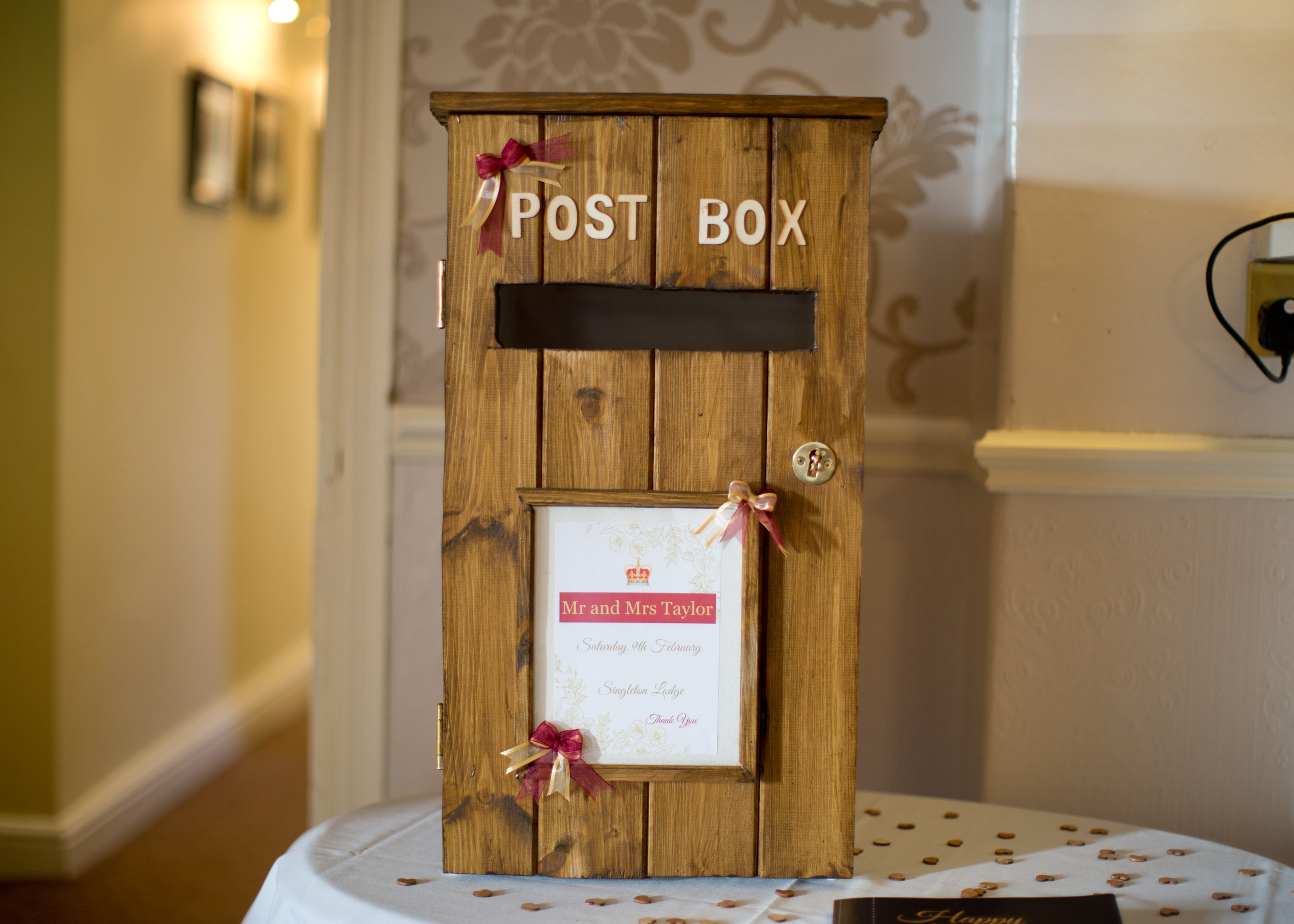 Rustic Postbox - Hire (PLL02)