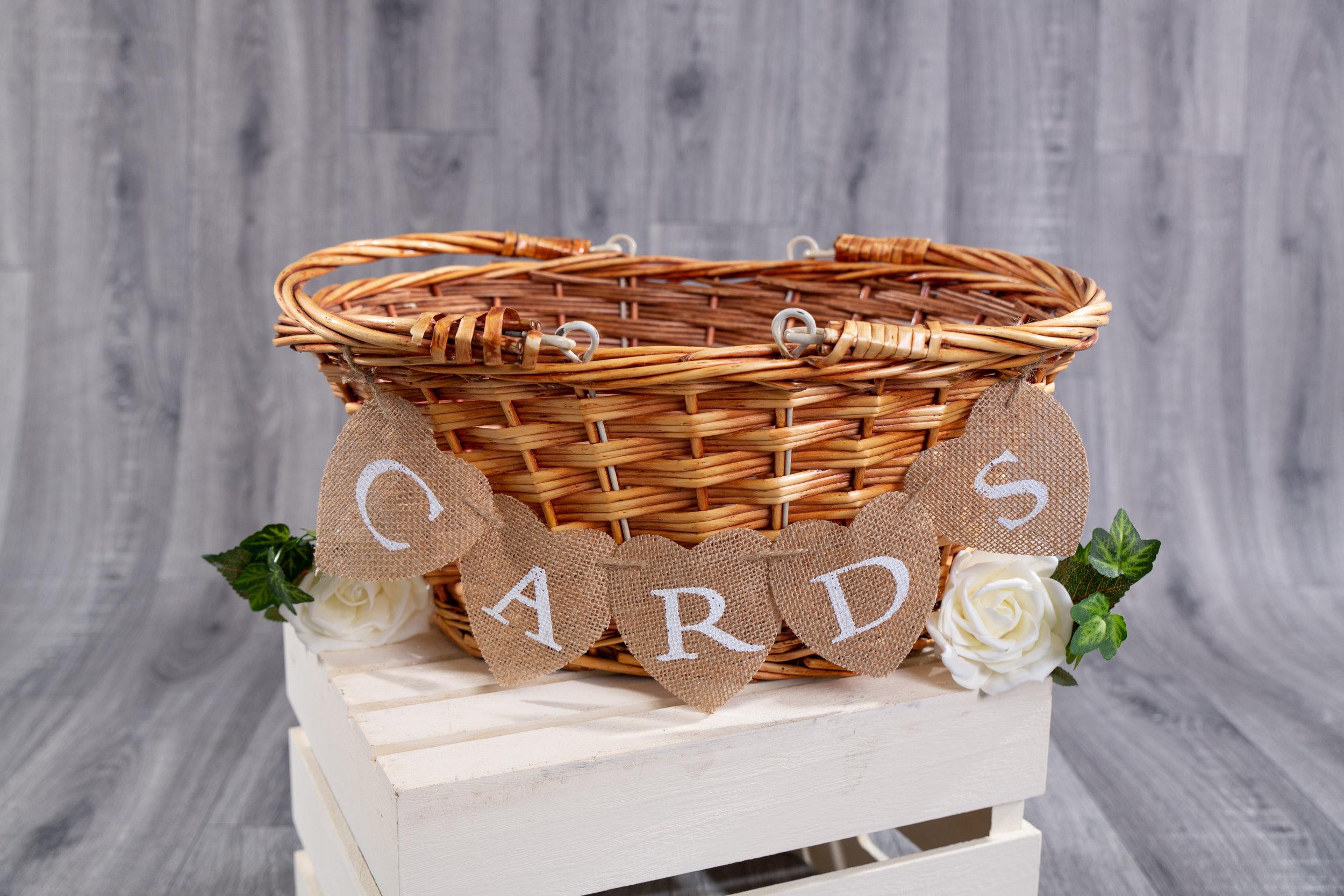 Card Basket - Hire (PLL03)