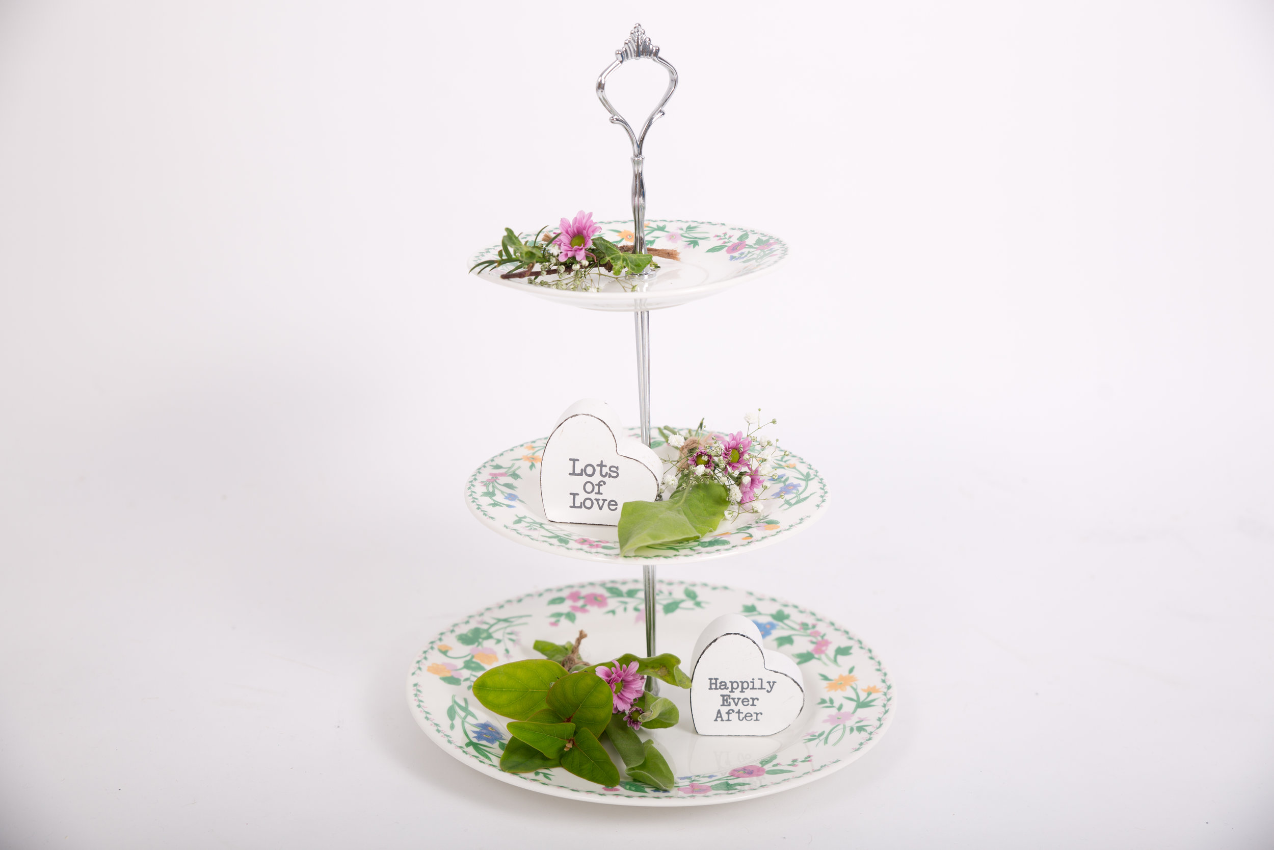 Vintage Style Cake Stands (VCLL02)