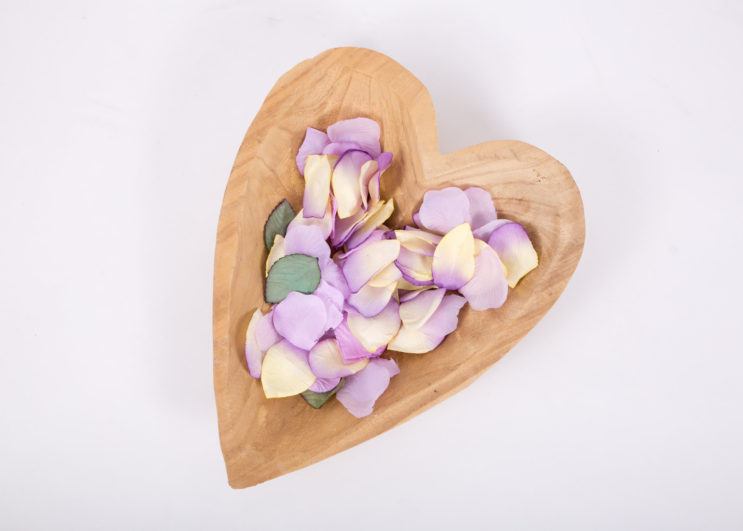 Wooden Heart Bowl (RDLL02)