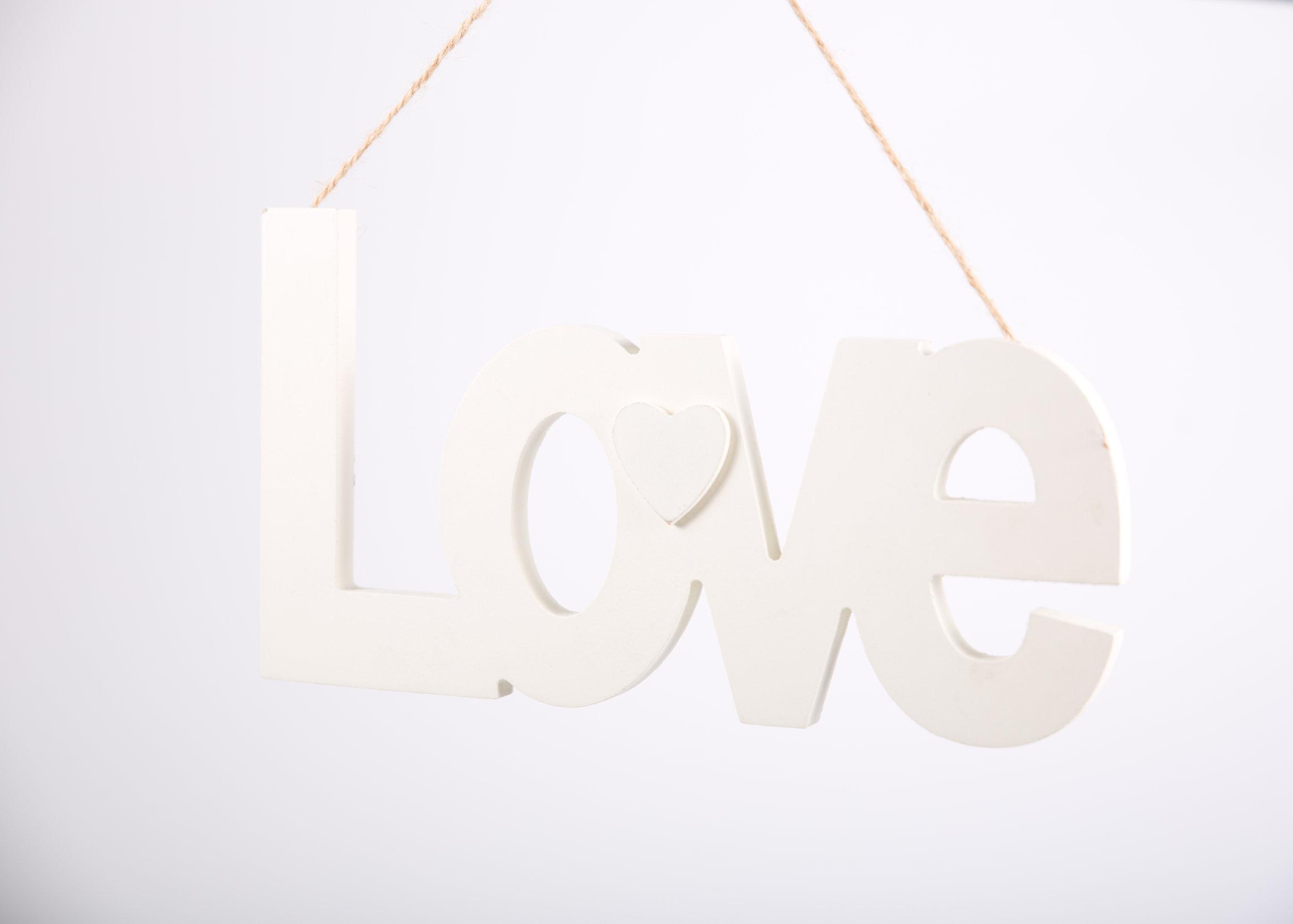 LOVE Sign (RDLL08)