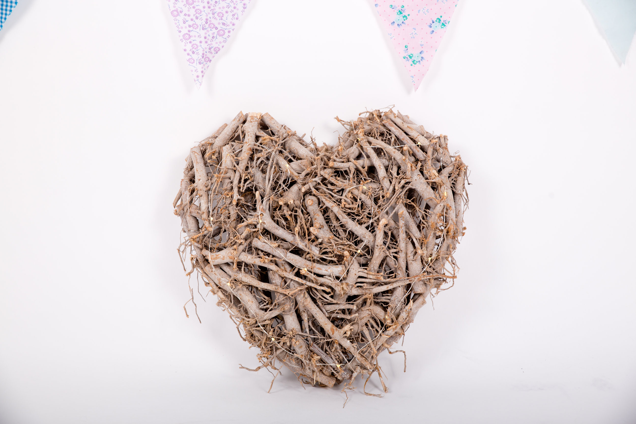 Large Twig Heart Light (LLL06)