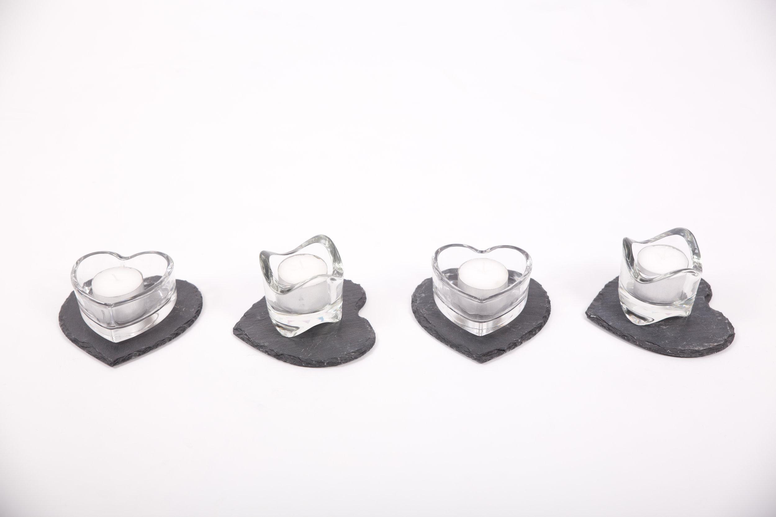 Glass Tealight Holders (CHLL10)
