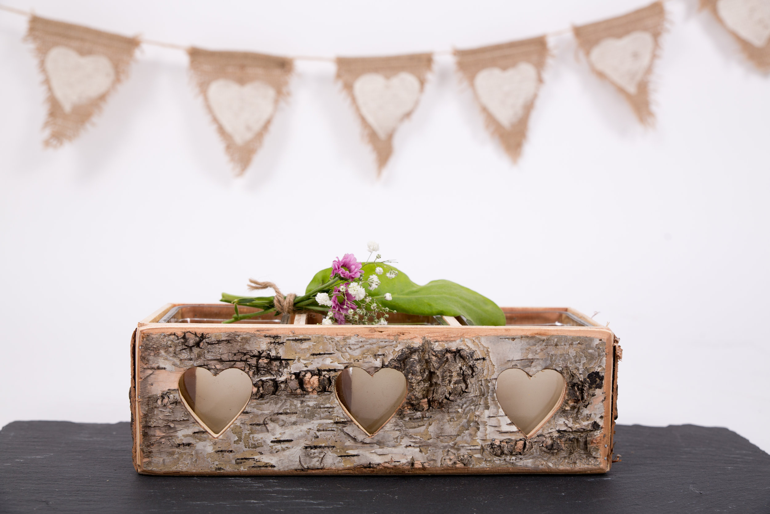 Wooden Candle Holder (CHLL14)
