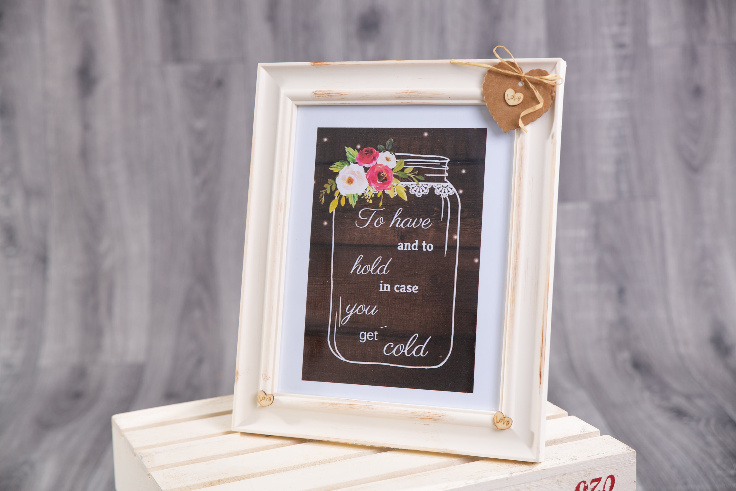 Sign in Frame - Large (SLL006)