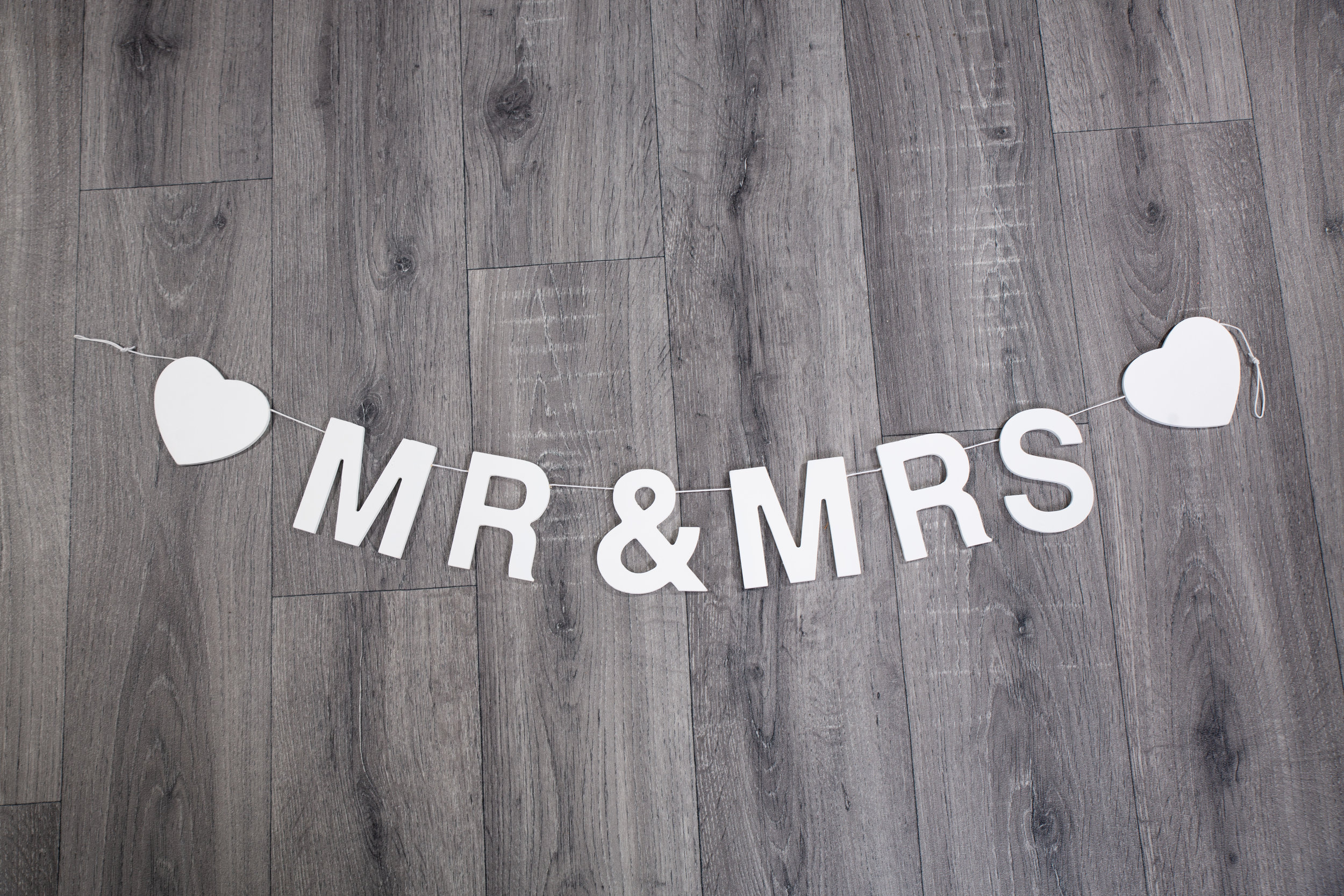 Wooden Mr & Mrs Bunting (BLL006)