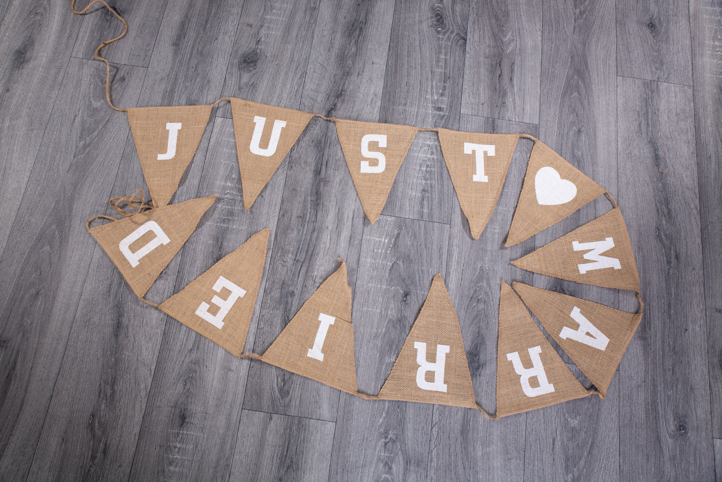 Just Married Bunting (BLL005)
