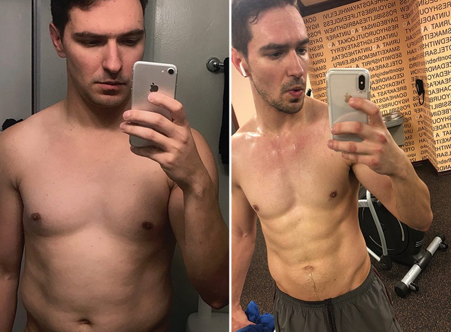 HOW I GOT THIS BODY: LOSING 15 LBS TO GET THAT POST-DIVORCE BOD - Read about Igor Volsky and his transformation