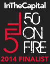 50 ON FIRE - 2014 Finalist in the Sports & Fitness category.