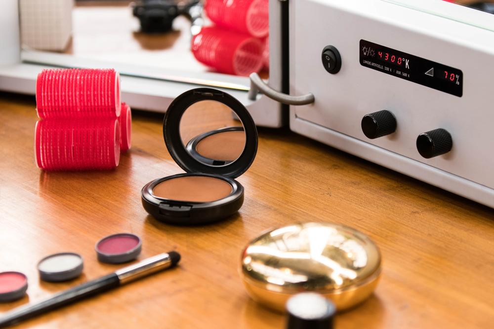 réglages température couleur glace maquillage