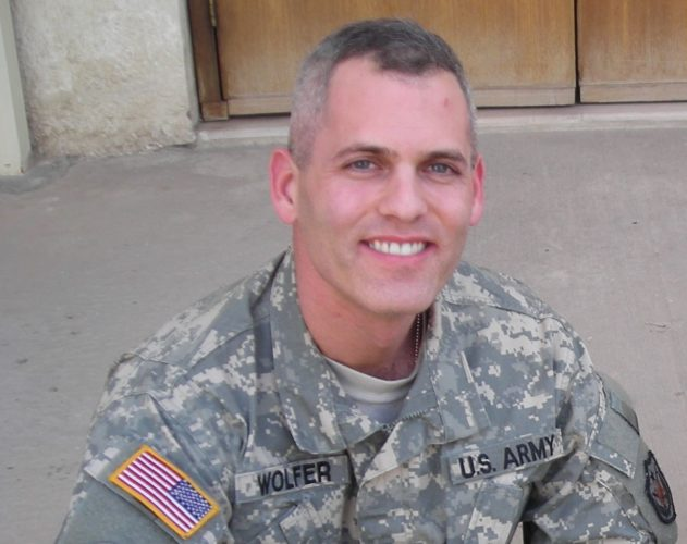 "Major Stuart Adam Wolfer z""l"