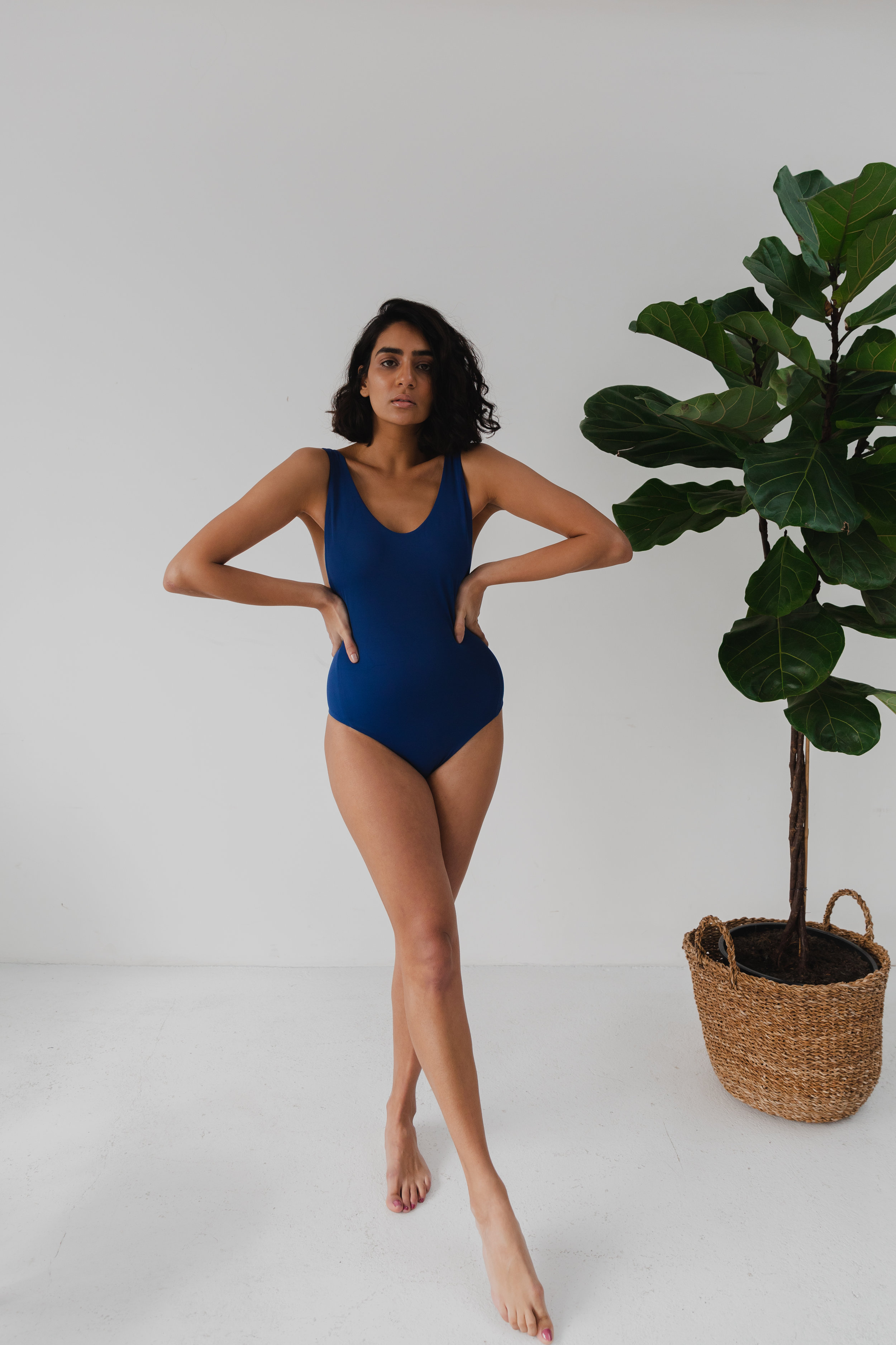 Made from recycled ocean plastic - Speaking of recycling…the Wanderlust One Piece is made from ECONLY fabric, 100% recycled ocean plastic.