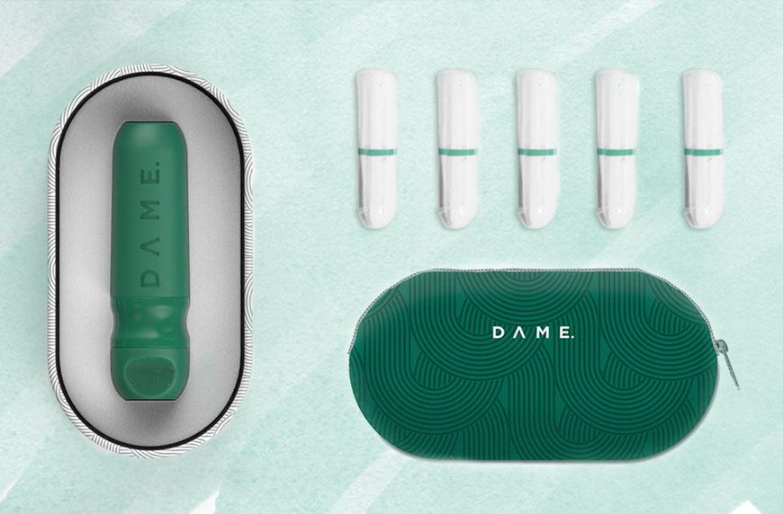 Reusable tampon Applicator - This is a genius idea. A reusable tampon applicator. Think of how unnecessary all those tampon applicators are that end up in sanitary bins. Instead you can use this reusable applicator and save on hundreds of pieces of plastic. The little applicator made from Mediprene easily and comfortably inserts a tampon.(If you aren't ready to invest in a reusable applicator, you could always just make the simple switch to non-applicator tampons)
