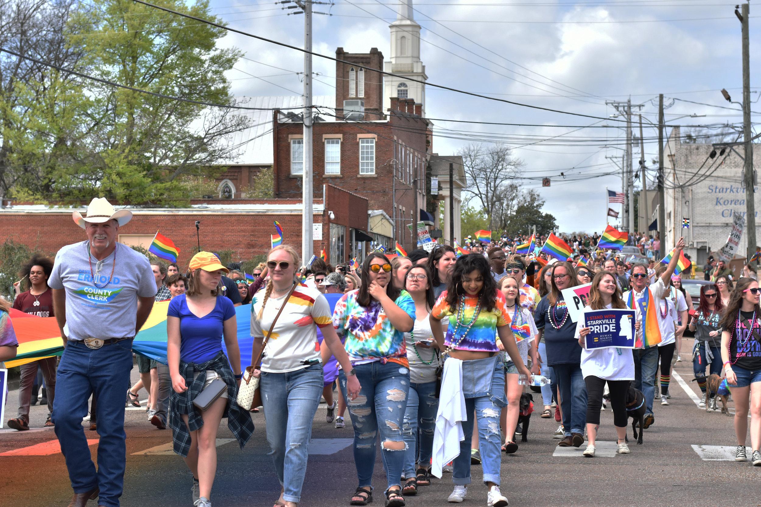 Starkville Pride, March 2018